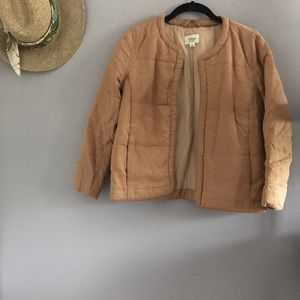 Teracotta Quilted Jacket